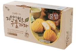 BAKED RICE MANJU (CHESTNUT) 제품사진