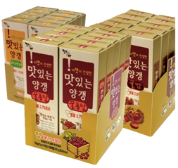 BEAN JEELY (WHOLE RED BEAN, BANANA, CHESTNUT) 제품사진