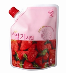 STRAWBERRY SYRUP_500g 제품사진