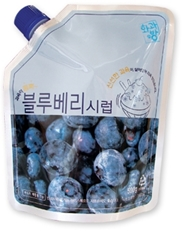 BLUEBERRY SYRUP_500g 제품사진