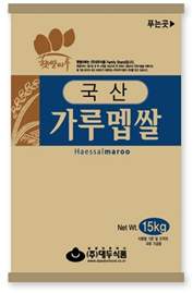 RICE FLOUR FOR RICE CAKE_15kg 제품사진