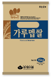 RICE FLOUR FOR RICE CAKE_15kg (IMPORTED RICE) 제품사진