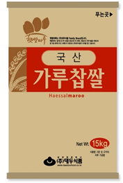GLUTINOUS RICE FLOUR FOR RICE CAKE_15kg 제품사진