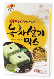 GREEN TEA SEOLGI RICE CAKE MIX 제품사진