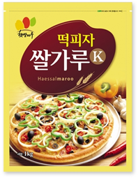 RICE POWDER FOR PIZZA RICE CAKE_1kg 제품사진