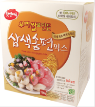 TRICOLOR SONGPYUN RICE CAKE MIX 제품사진