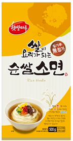 DRIED BLACK RICE NOODLE_500g 제품사진