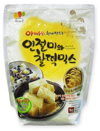 GLUTINOUS RICE CAKE MIX_1KG PACK 제품사진