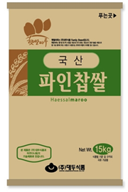 GLUTINOUS RICE POWDER FOR RICE CAKE_15kg 제품사진