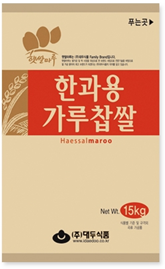 GLUTINOUS RICE FLOUR FOR KOREAN TRADITIONAL COOKIE_15kg 제품사진