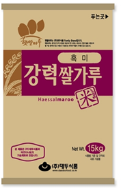 BLACK RICE POWDER FOR BREAD_15kg (IMPORTED RICE) 제품사진