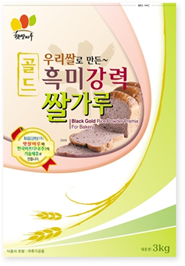 GOLD BLACK RICE POWDER FOR BREAD_3kg 제품사진