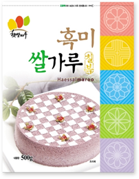 BLACK RICE FLOUR FOR RICE CAKE_500g 제품사진